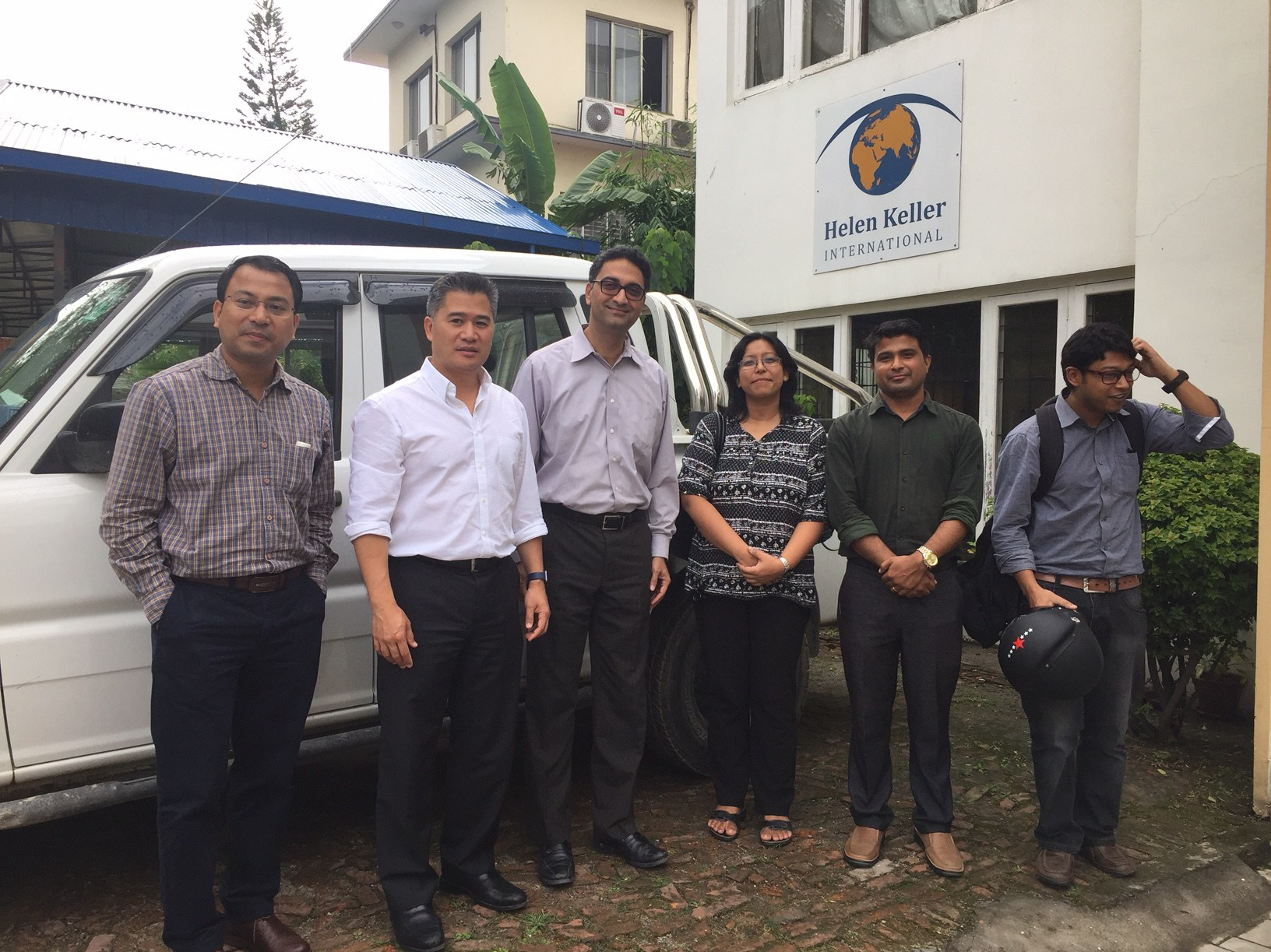RVPC in Nepal with HKI team (USAID)